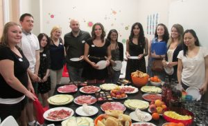 TEFL course welcome lunch