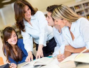 Teacher assistant in Madrid