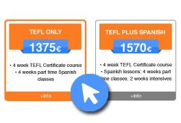 Choose your TEFL course