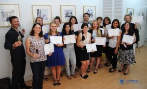 TEFL Course Graduation