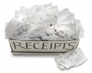 receipts Using Realia With Your Students