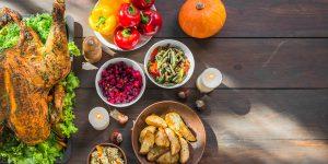 Thanksgiving ingredients
