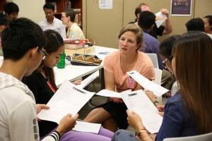 Teaching English as a non-native speaker