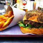 burgers in madrid cafetería hd