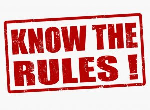 Know the rules esl activity