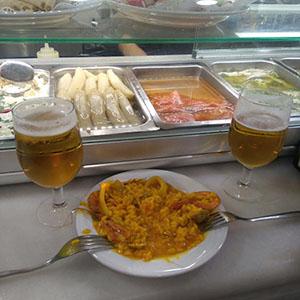 entre caceres y badajoz free tapas in Madrid