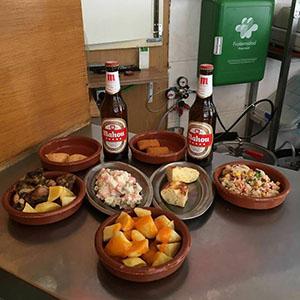 los amigos free tapas in Madrid