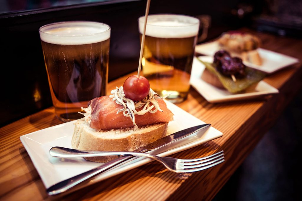 free tapas in Madrid