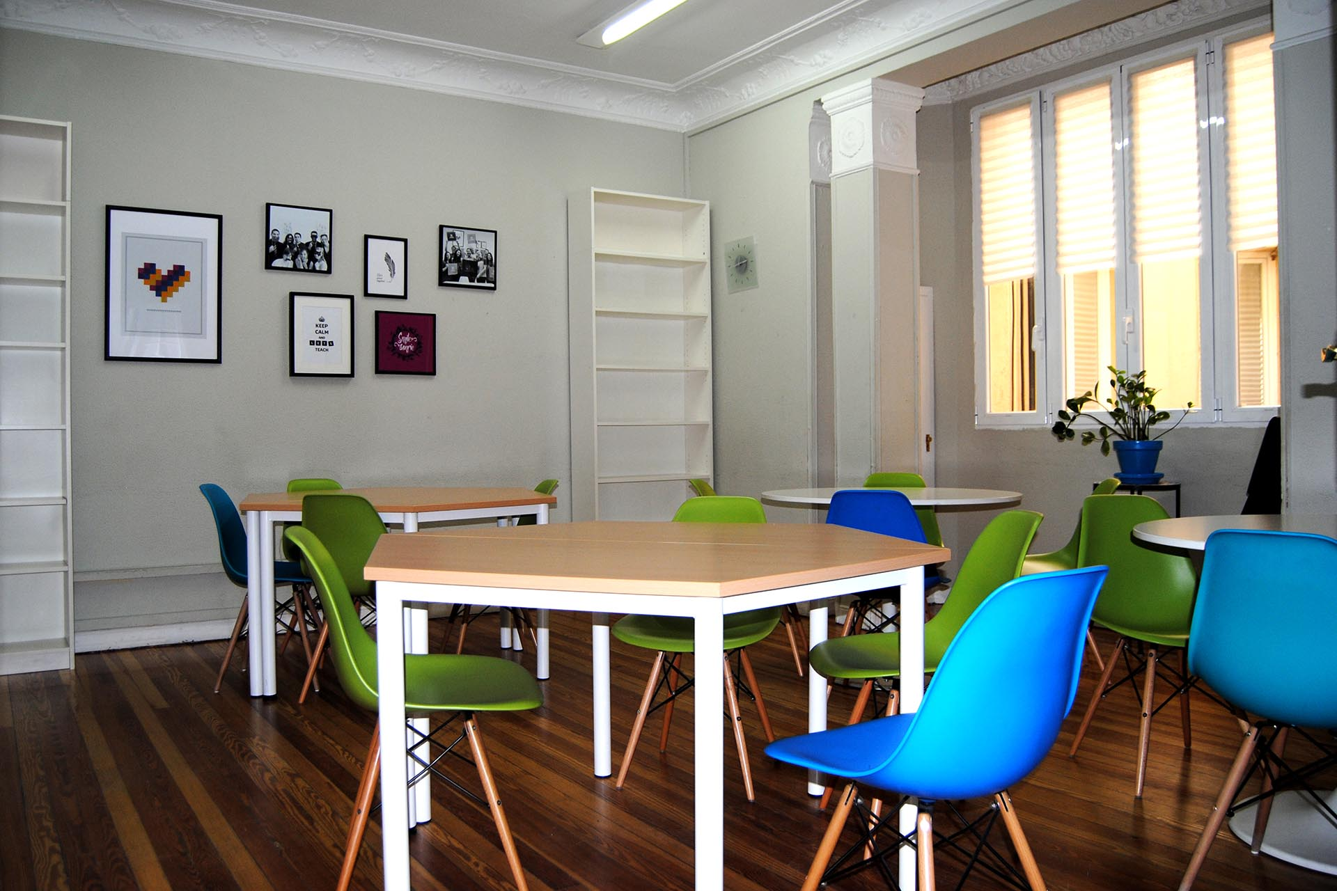 Benefits of renting a classroom in Madrid