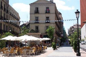 Downtown Neighborhoods in Madrid to live Barrio de las letras Madrid