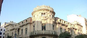 Downtown Neighborhoods in Madrid to live Palacio Longoria in Madrid
