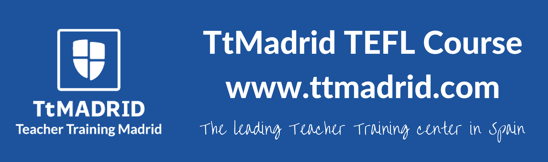 TtMadrid TEFL Course leading teacher training center in Spain