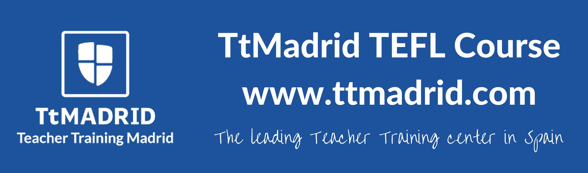 TtMadrid TEFL Course leading teacher training center in Spain