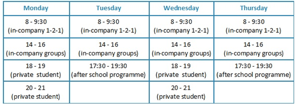 good timetable