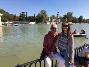 TtMadrid TEFL course graduate Phil in Retiro Park