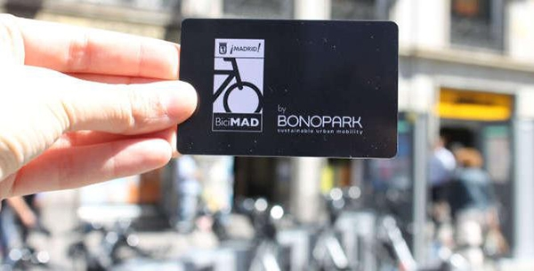 Bicimad transport card