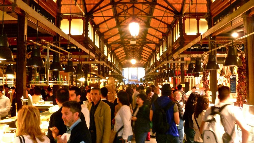 The best markets in Madrid Mercado San Miguel 2