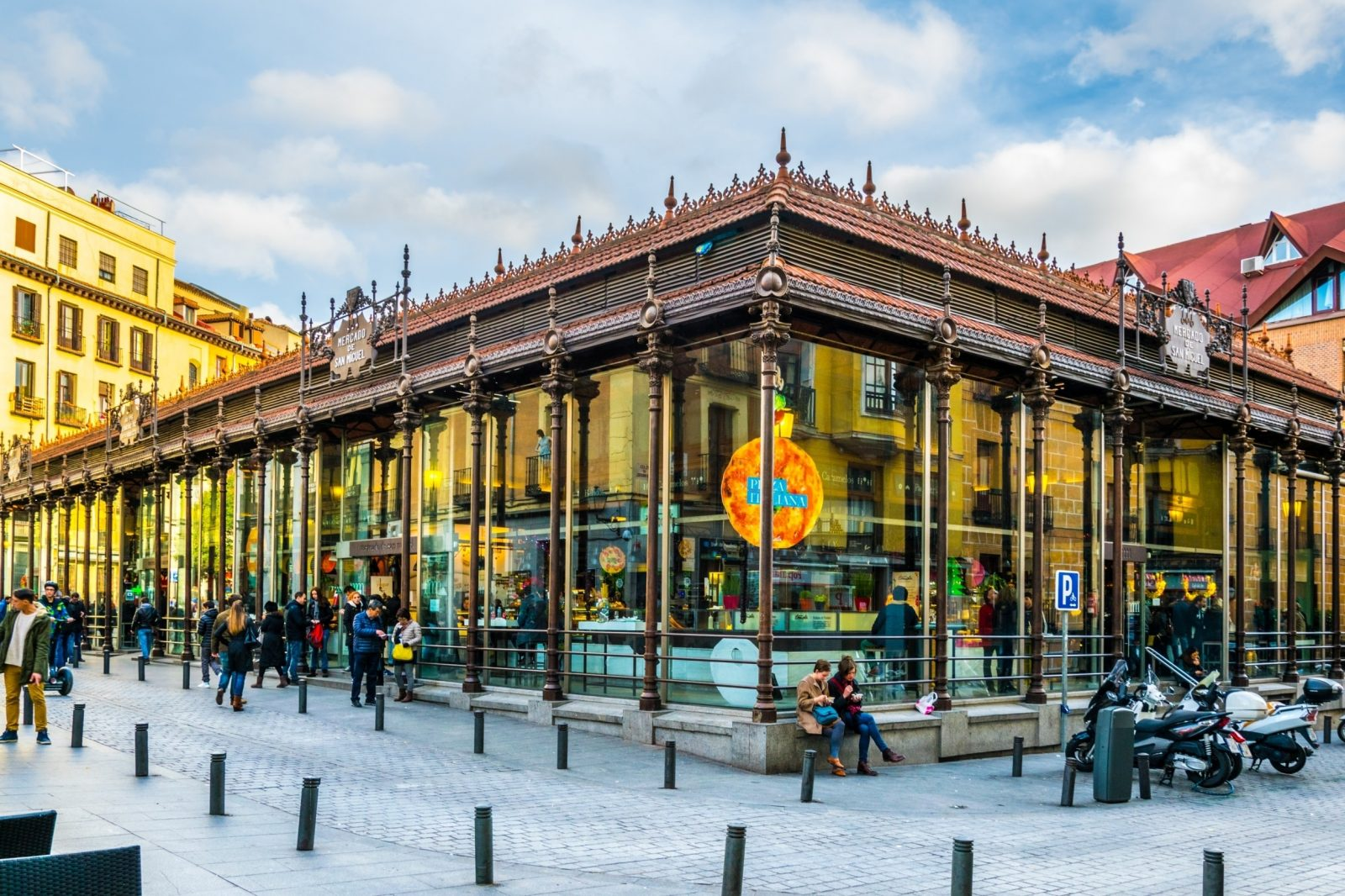 The best markets in Madrid