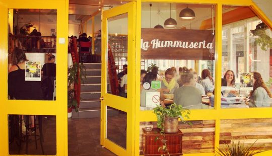 la hummuseria best restaurants in madrid