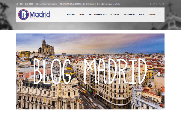 Be Madrid 42 best Madrid blogs