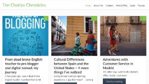 Chorizo Chronicles 42 best Madrid blogs