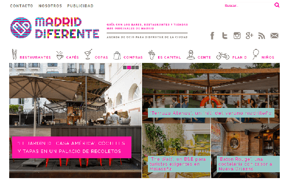 Madrid diferente 42 best Madrid blogs