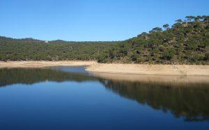 Madrid's beach san juan reservoir