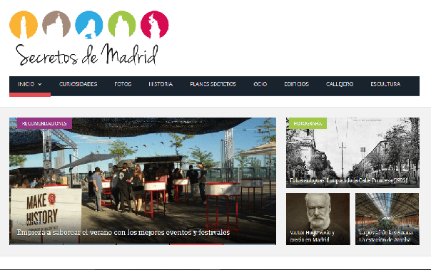 secretos de madrid 42 best Madrid blogs