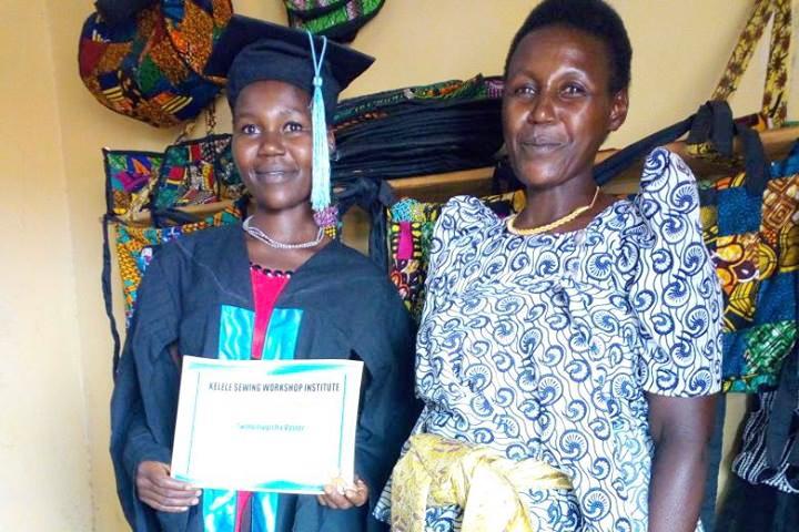 Kelele Africa - sewing workshop