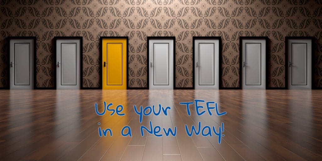 Use your TEFL in a New Way!