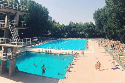 top swimming pools in Madrid
