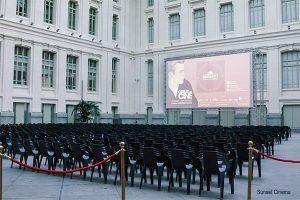 Sunset CINEMA - Summer cinemas in Madrid
