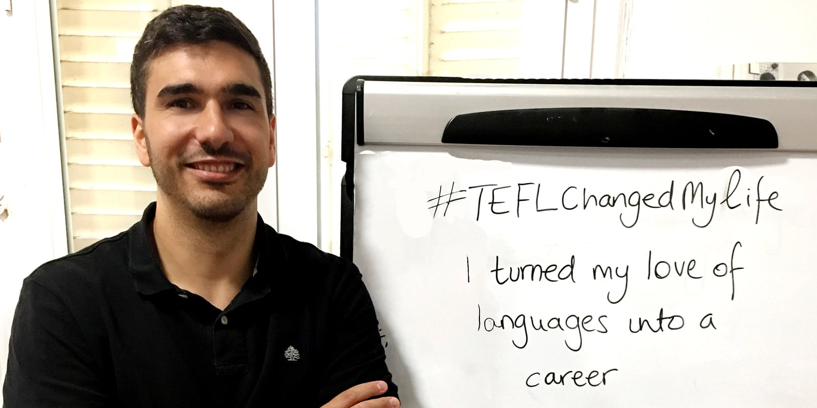 TEFL Changed my life- Hector