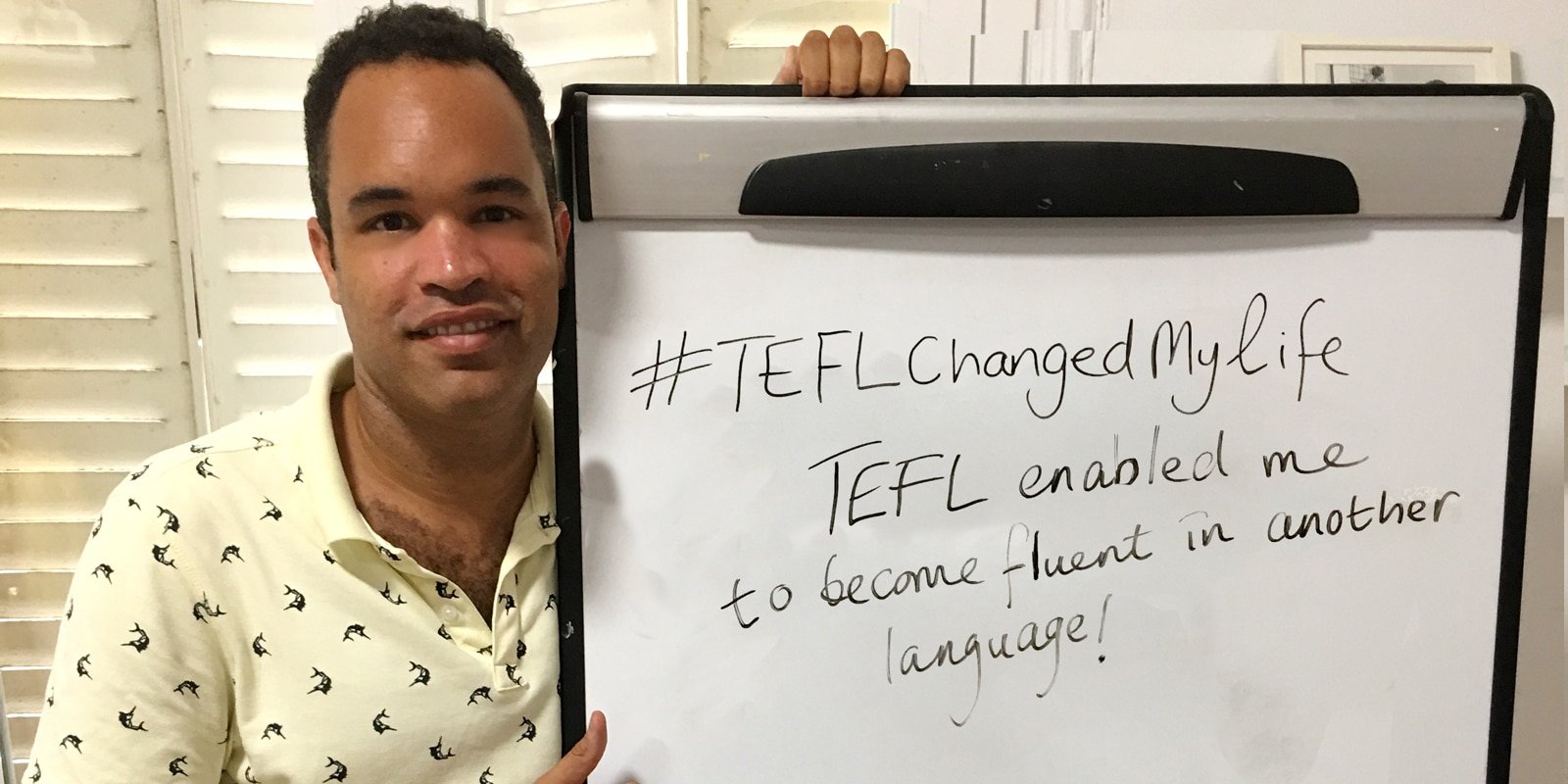 TEFL Changed my life- Rory