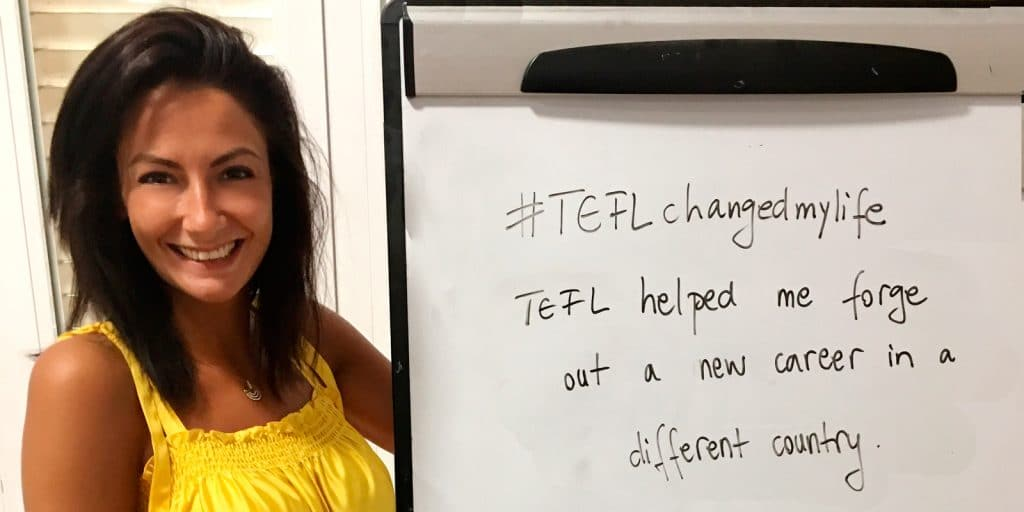 TEFL Changed my life - Alina