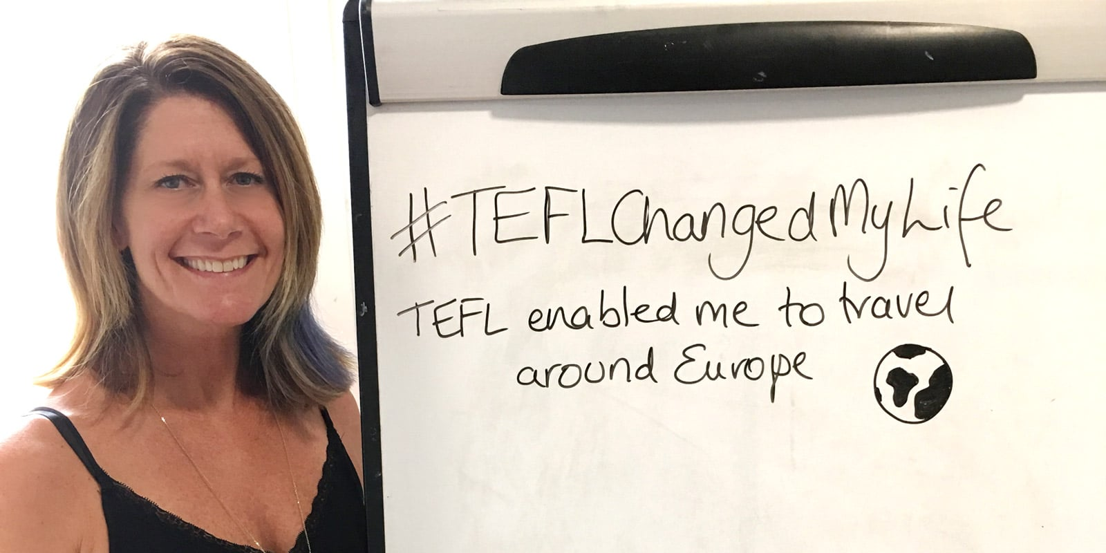 TEFL Changed my life- Dianne