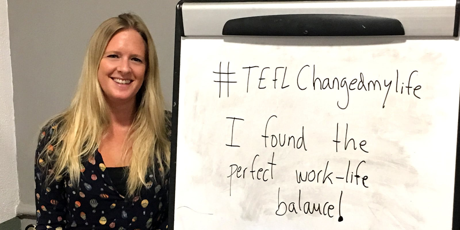 TEFL Changed my life – Helen