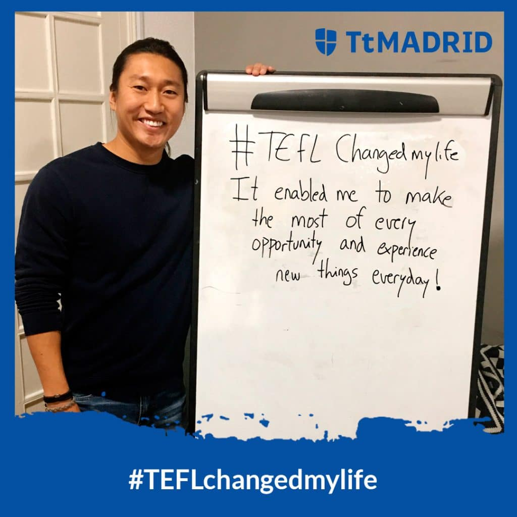 TEFL Changed my life Spencer