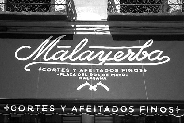 Best barber shops in Madrid: Barbería Malayerba