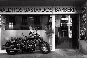 malditos bastardos barbería Madrid