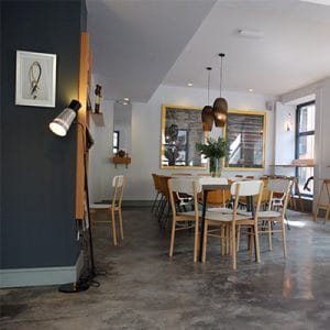 Pet-friendly Places in Madrid - Cafe Federal