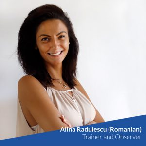 Alina Radulescu (Romanian) – Trainer and Observer