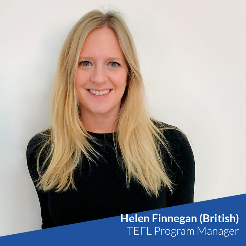 Helen Finnegan (British) - TtMadrid TEFL Program Manager