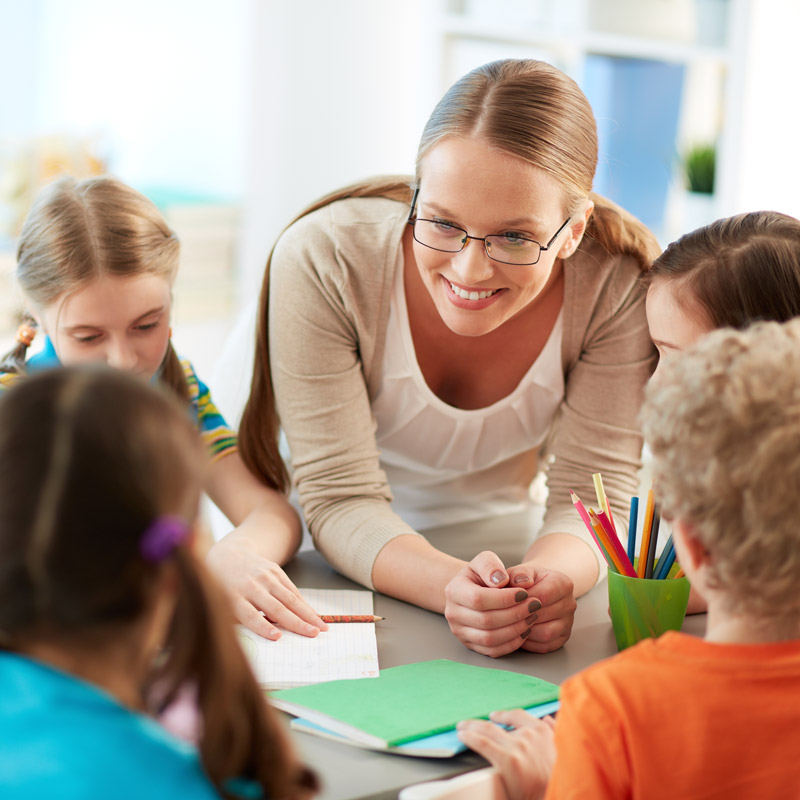Teach English classes in schools of Madrid