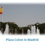 plaza colon in madrid