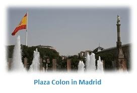 plaza colon in madrid