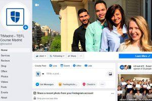TtMadrid TEFL Course on social media