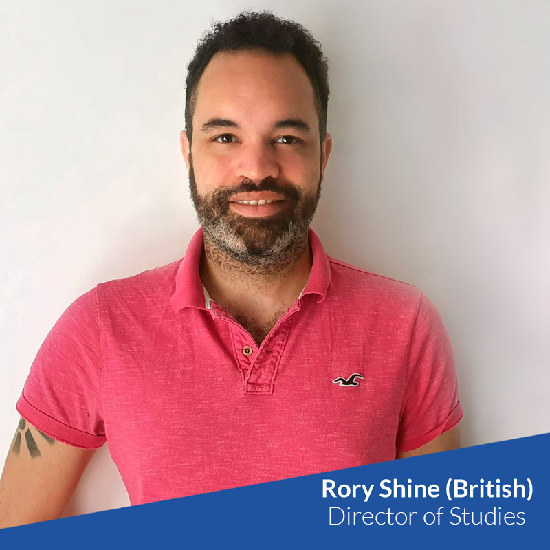 Meet TtMadrid Team - Rory, Director of Studies