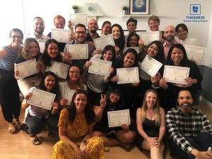 August 2019 TEFL Graduation photo