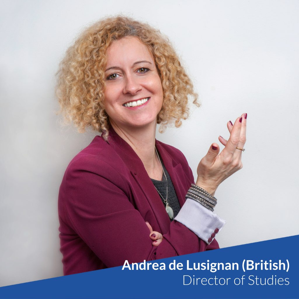 Andrea - Director of Studies of TtMadrid TEFL Course